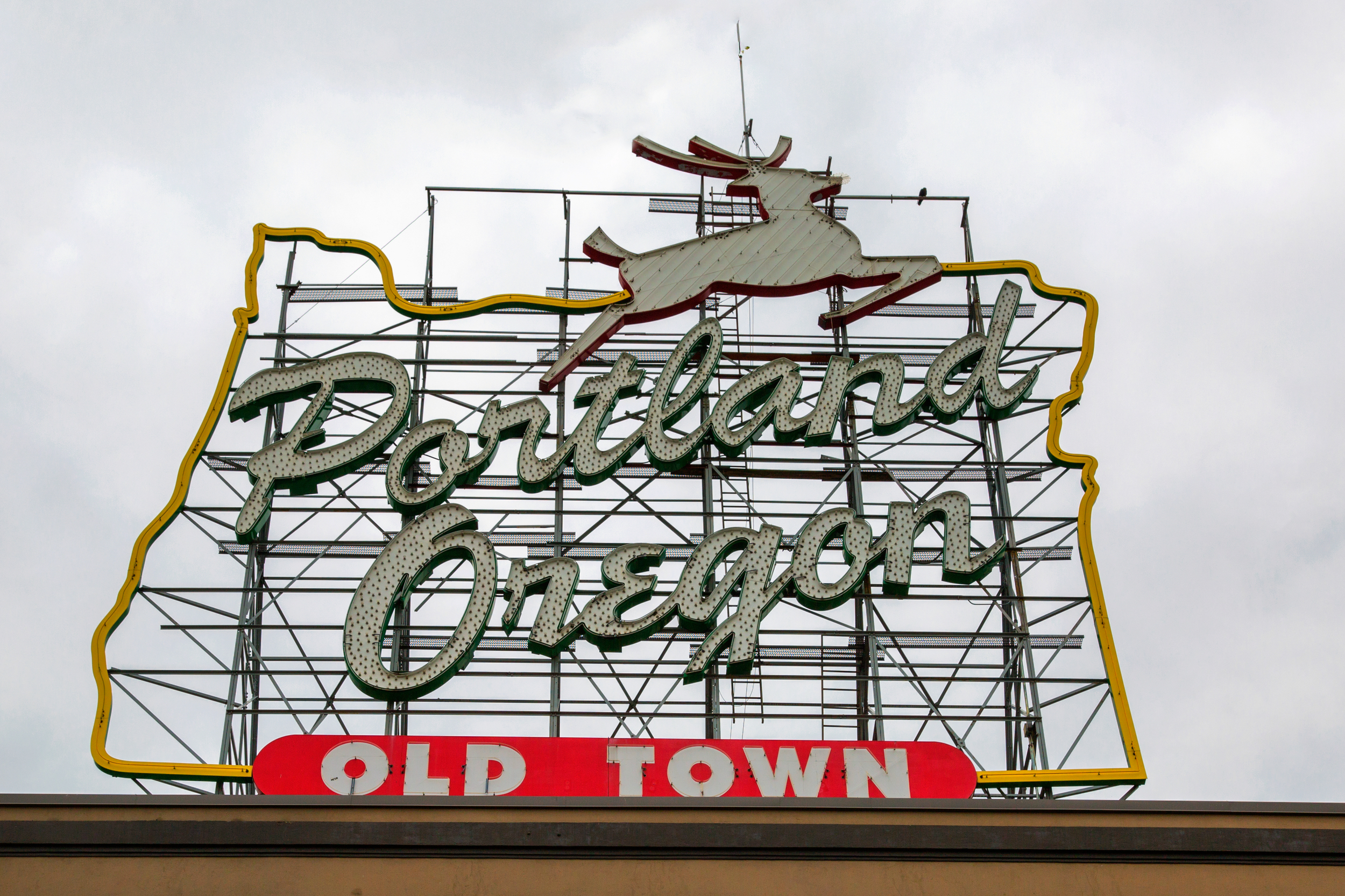 White Stag Sign - Portland, OR