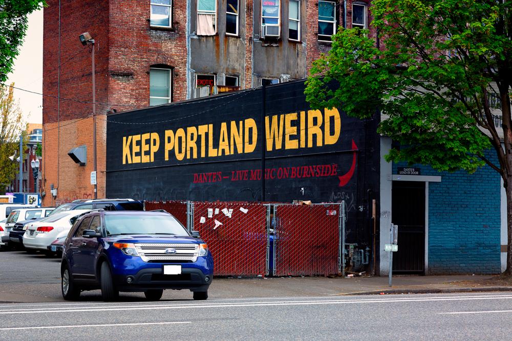 Renting A Car In Portland