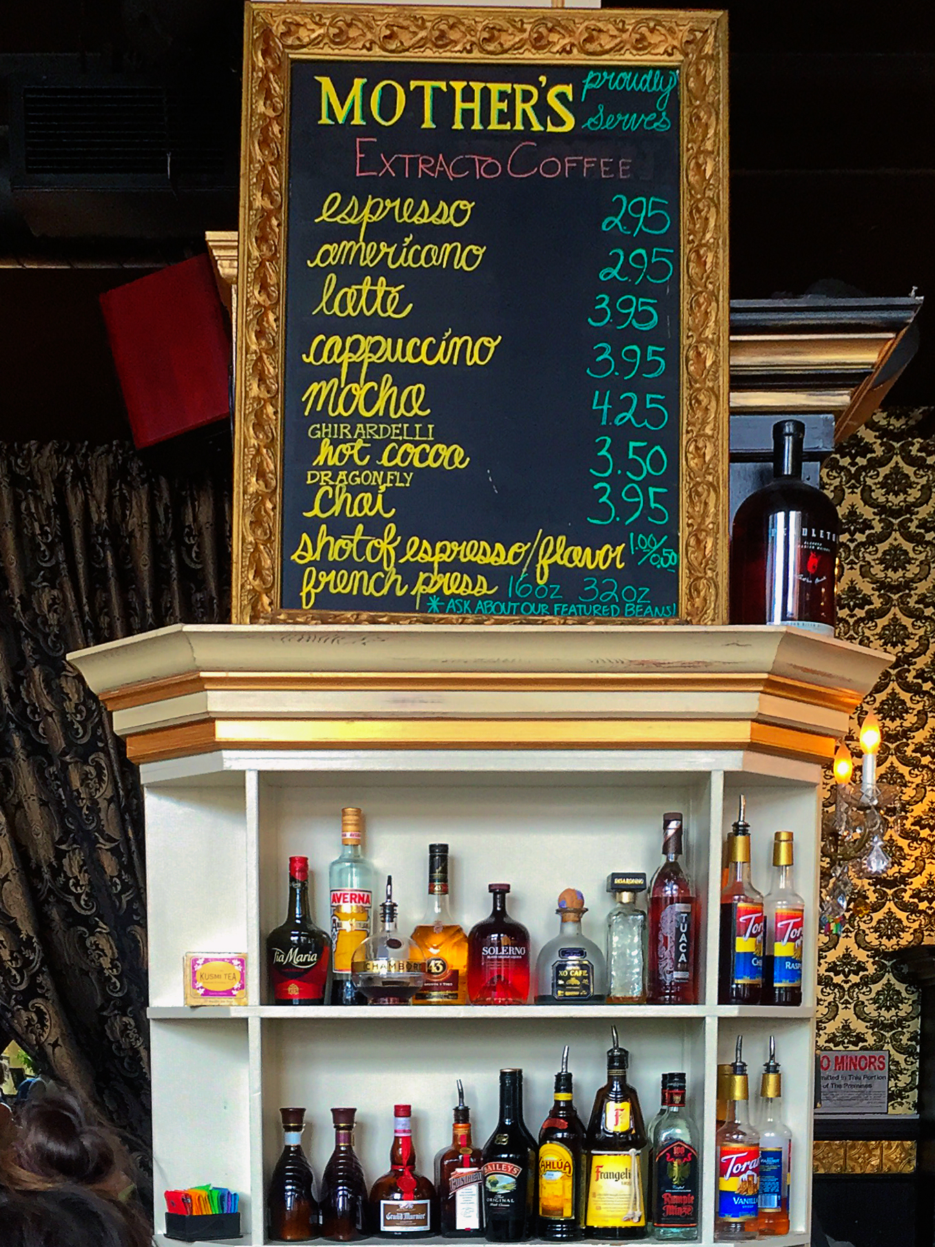 Mother's Bistro & Bar Menu