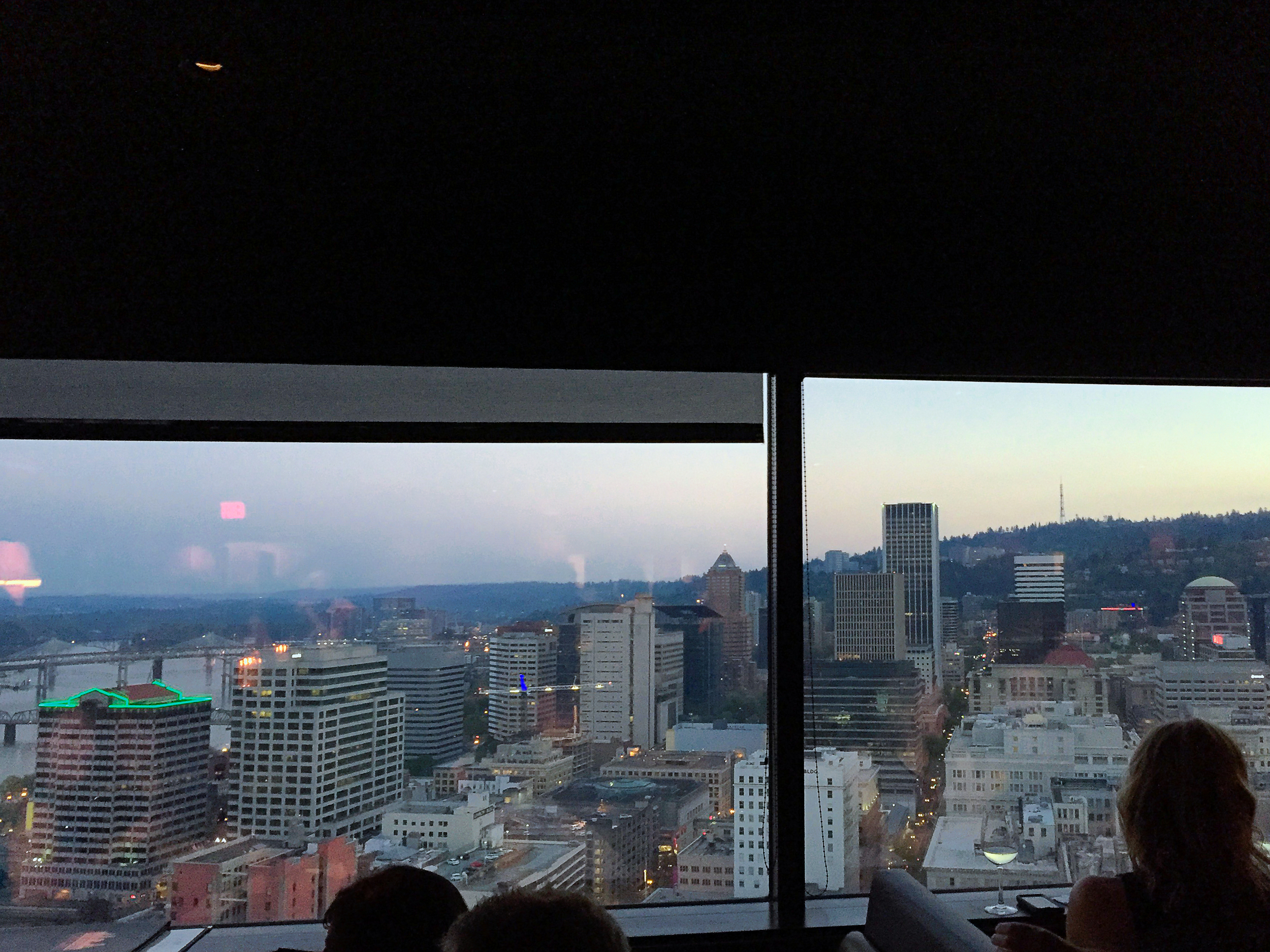 Portland City Grill On The 30th Floor View