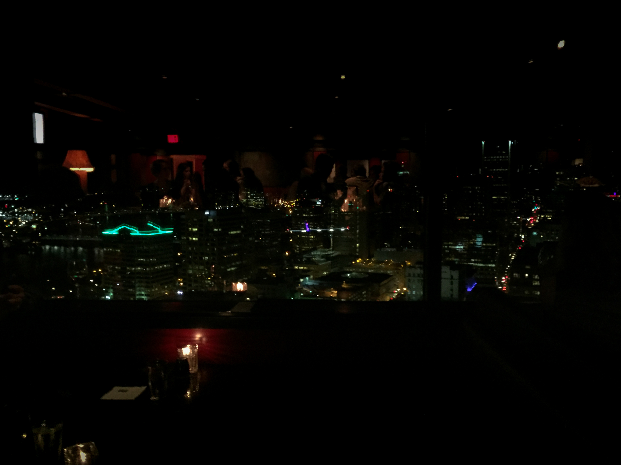 Portland City Grill On The 30th Floor Night View - Eric Bravo Photography