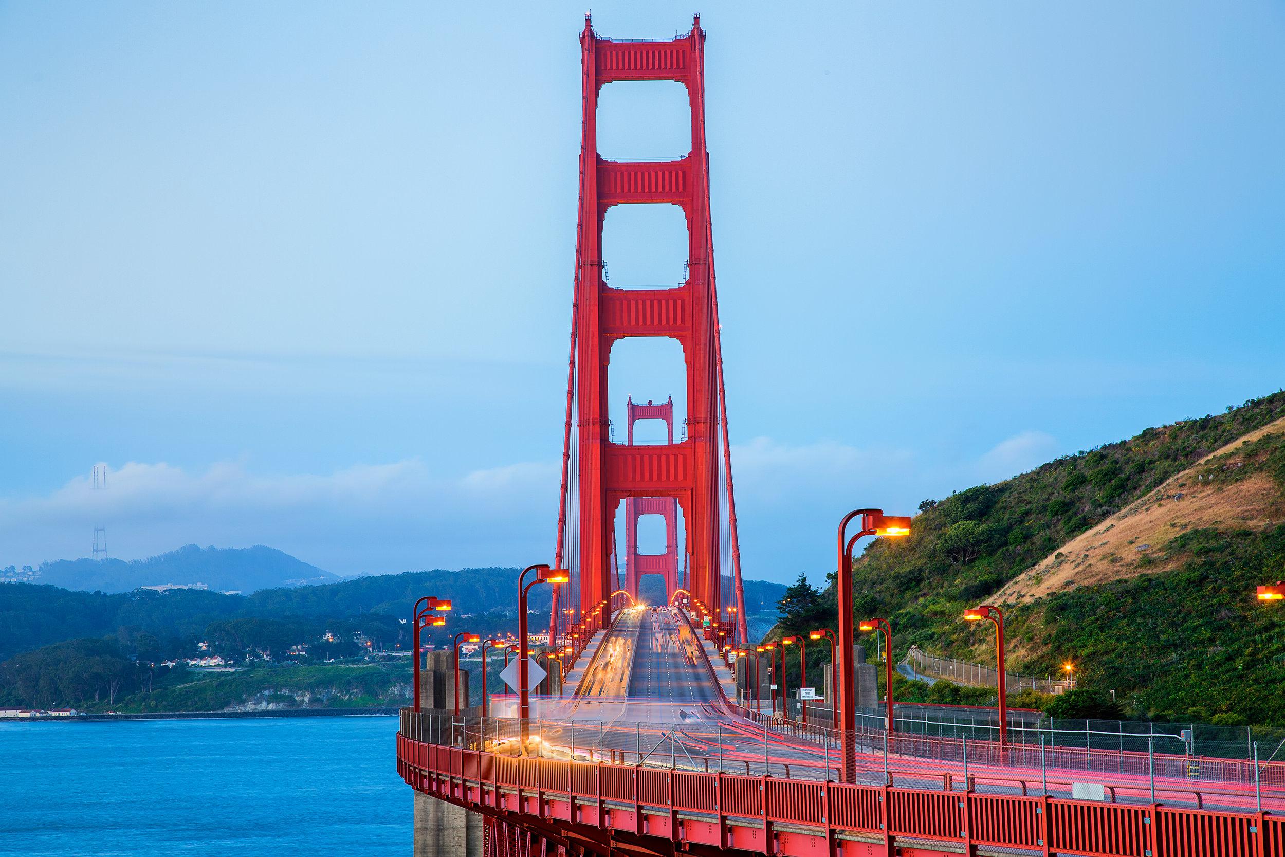 Transportation in San Francisco - Golden Gate Traffic