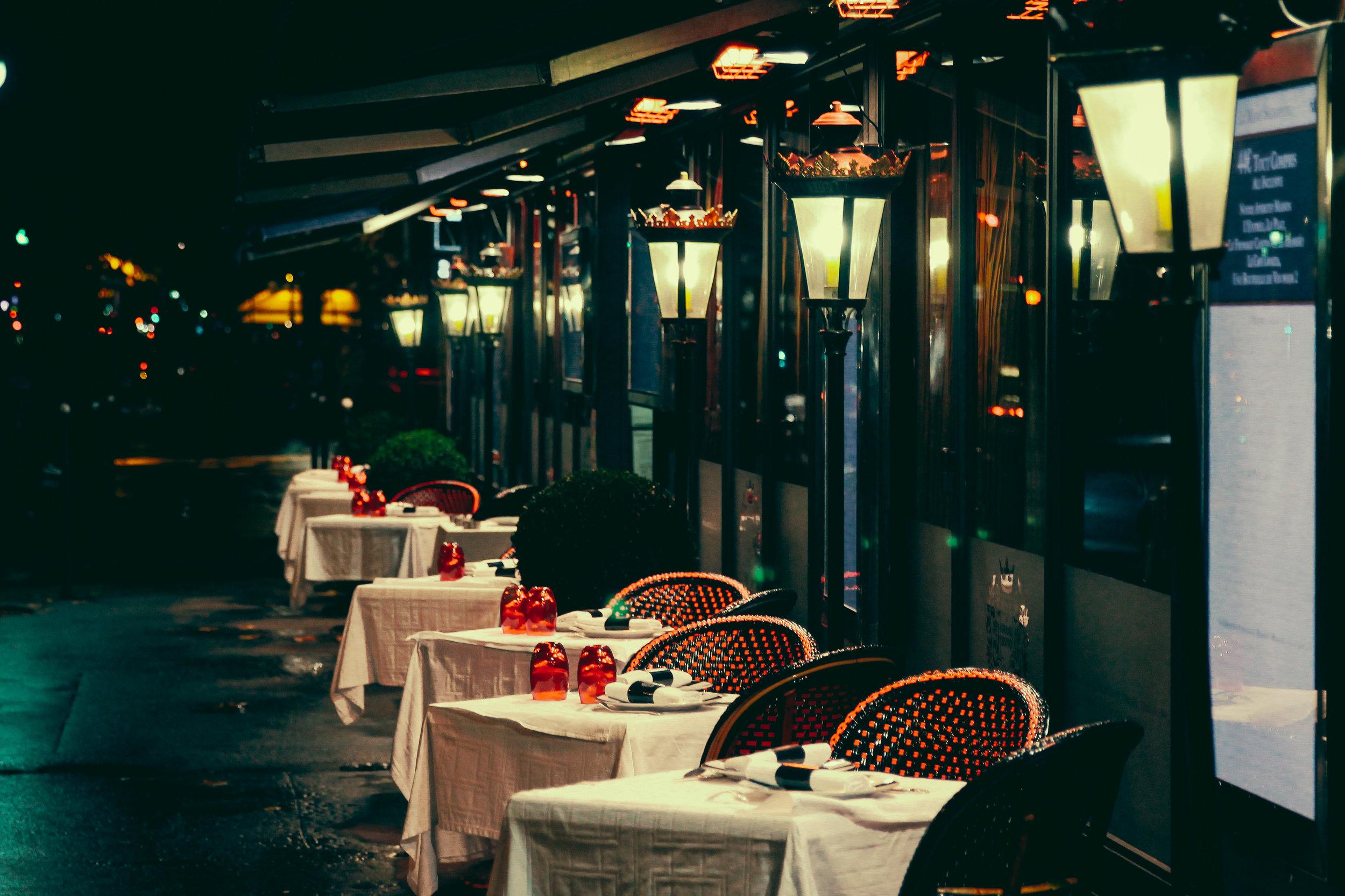 Hotel Ampere's Neighborhood Restaurant by  Eric Bravo Photography