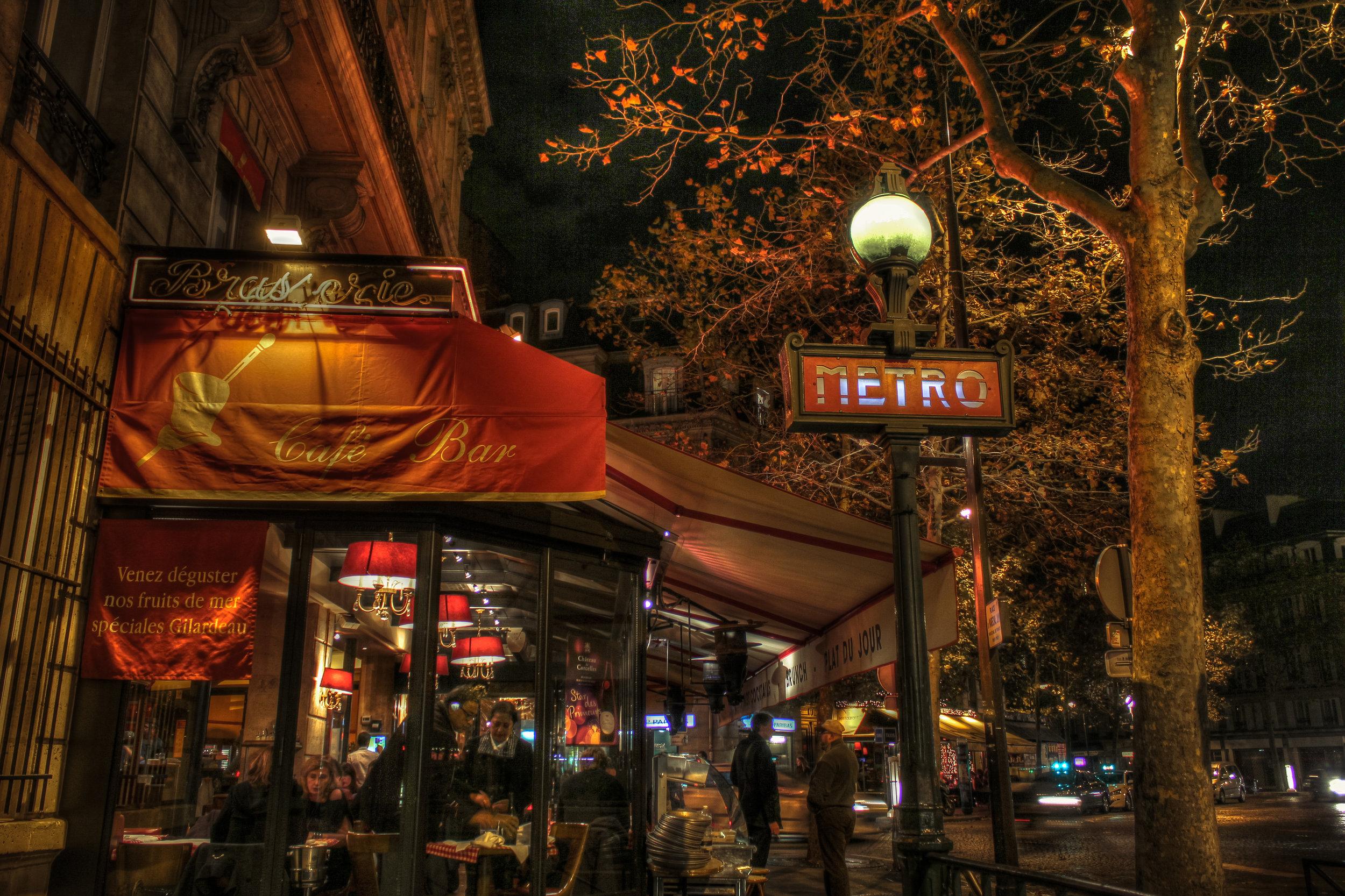 Hotel Ampere's Metro Station - Pereire Station -  Eric Bravo Photography