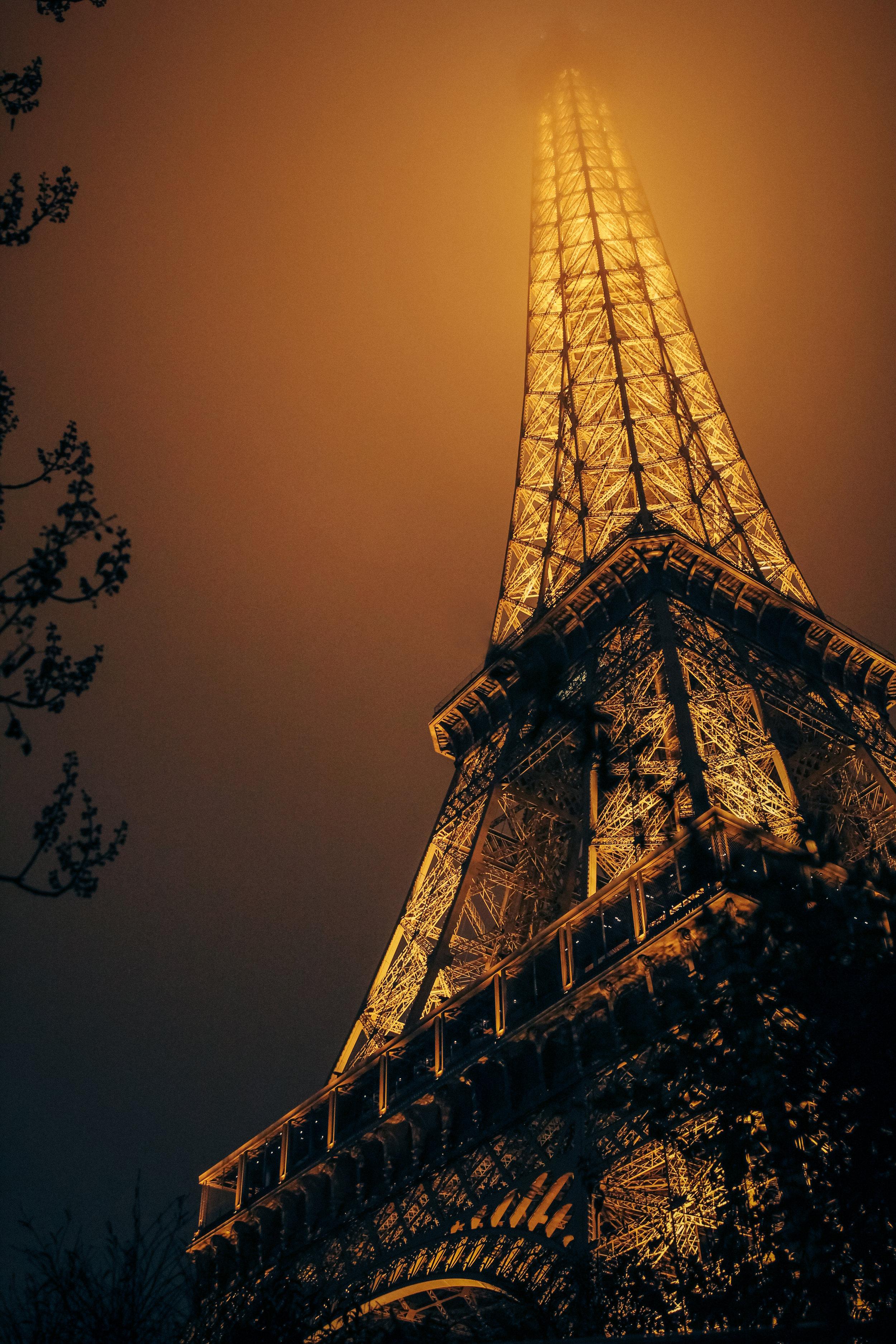 Eiffel at Night - Eric Bravo Photography