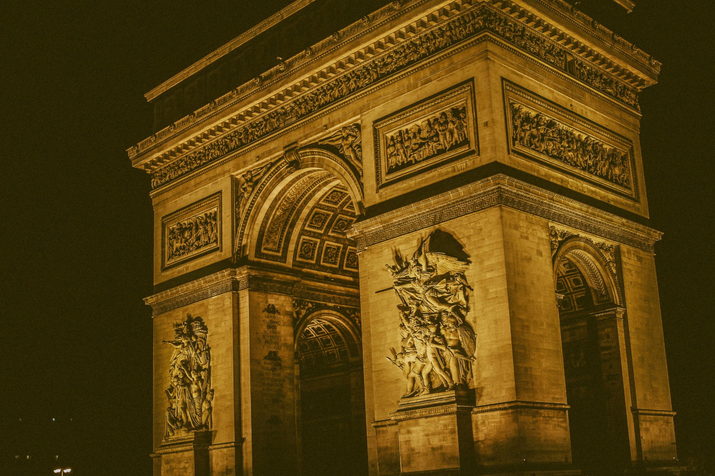 Arc De Triophe - Eric Bravo Photography