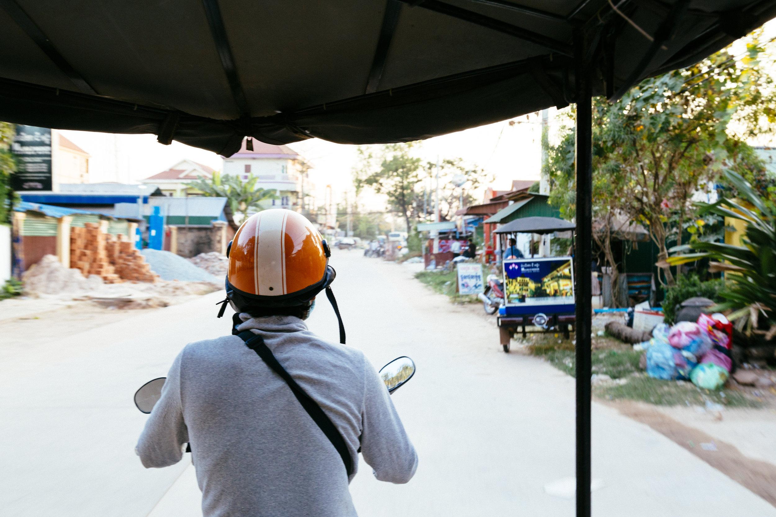 Tuk Tuk in Siem Reap