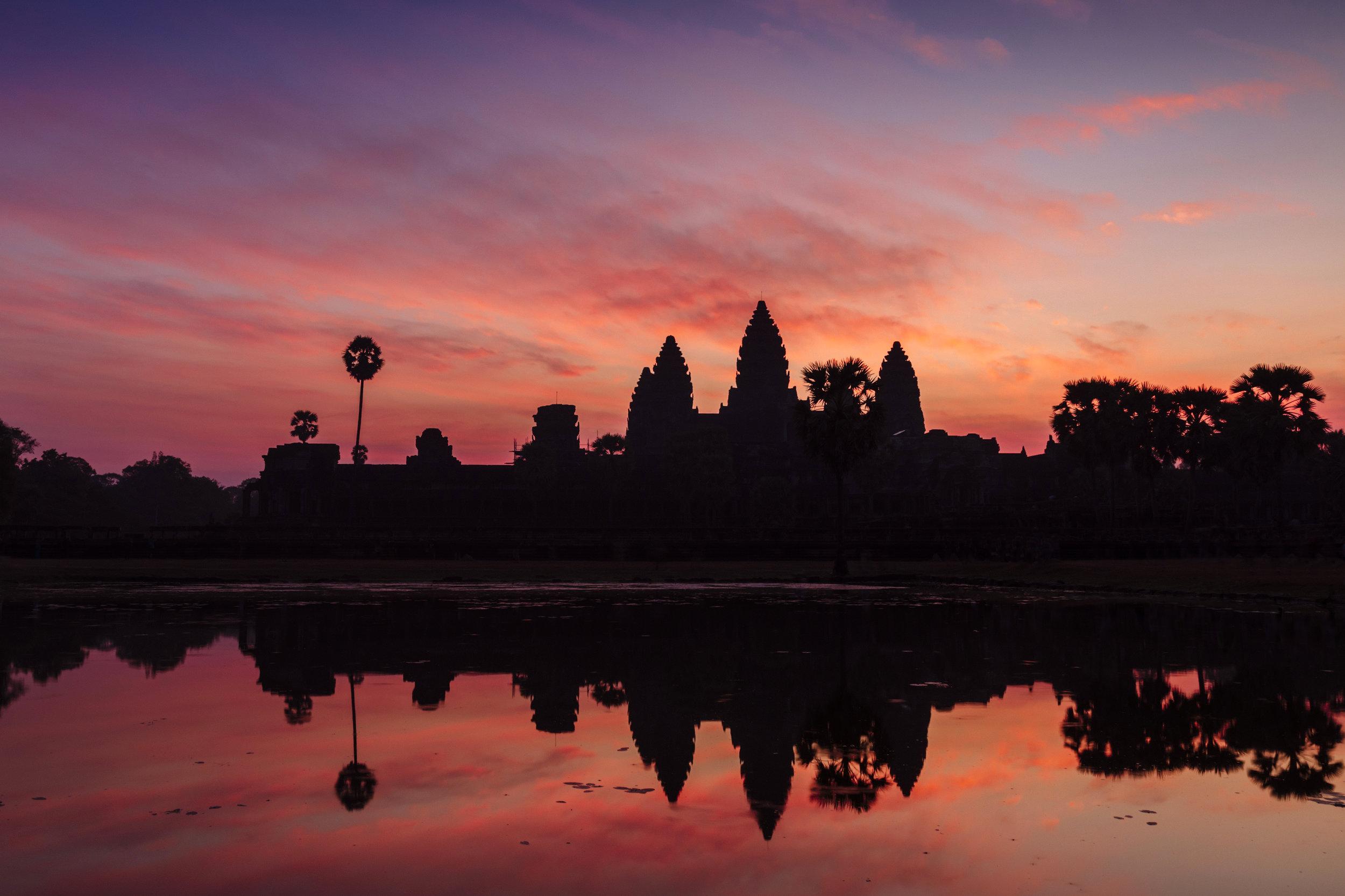 Angkor Wat Sunrise - Siem Reap - Let's Go Bravo - Eric Bravo Photography