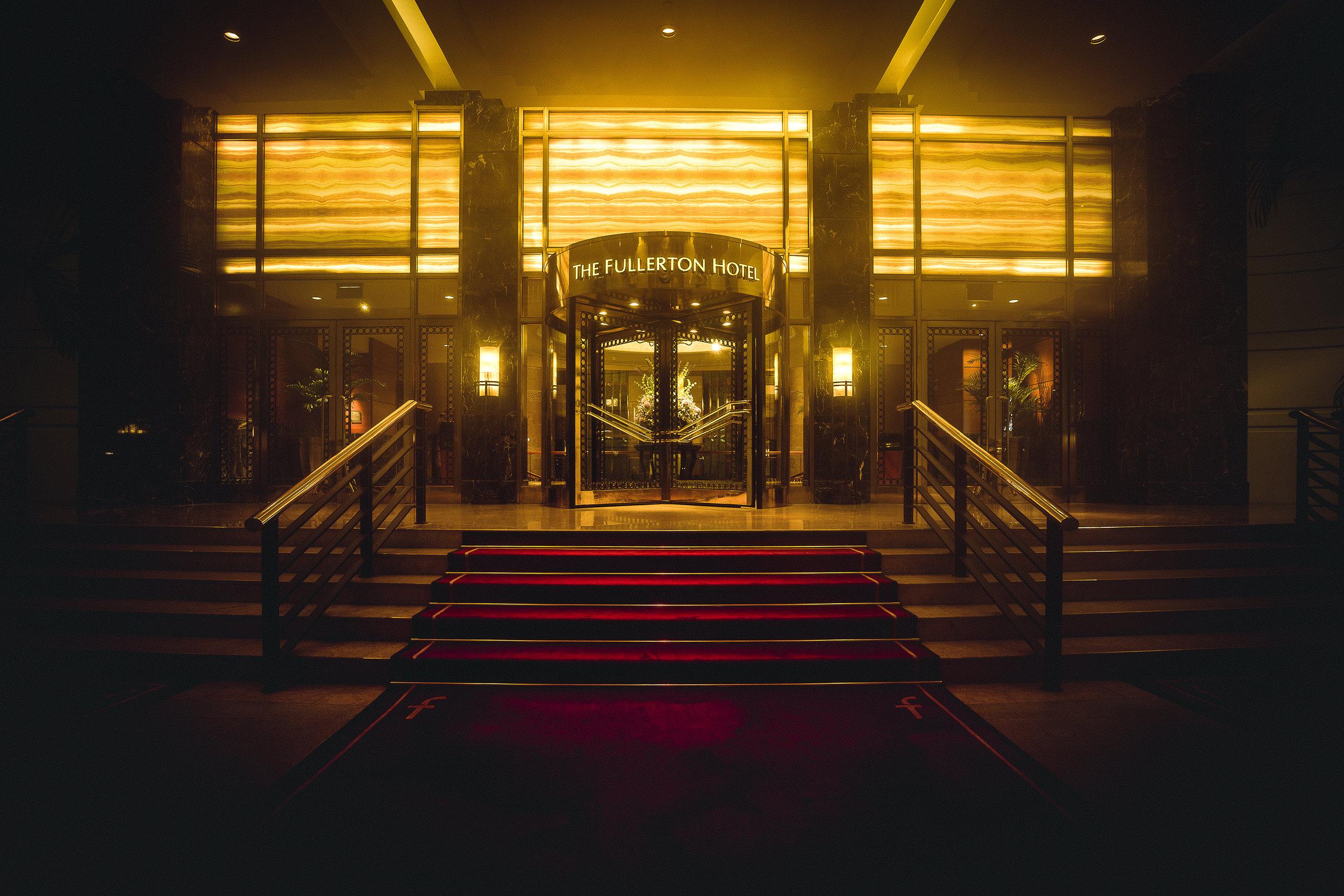 Fullerton Hotel Singapore - Let's Go Bravo - Eric Bravo Photography