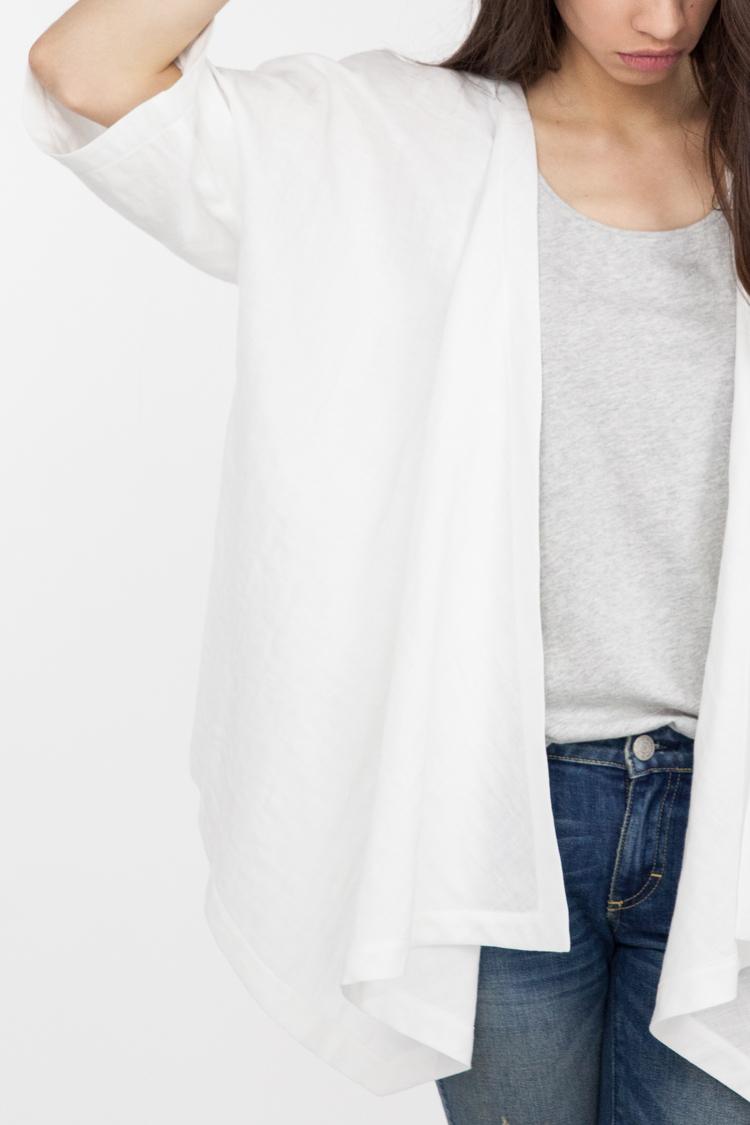 Bellevue Jacket in White