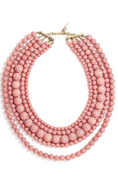 BaubleBar 'Globe' Multistrand Beaded Necklace
