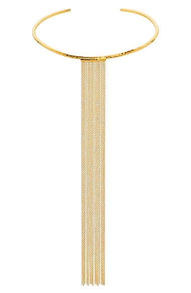 Gorjana 'Twiggy' Fringe Collar Necklace