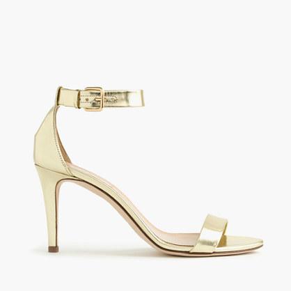 Mirror Metallic Heels