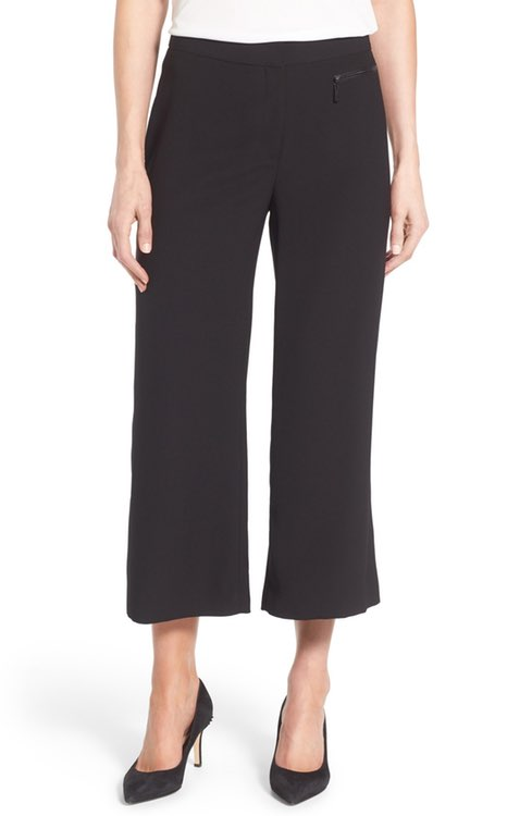 $89 - Zip Pocket Culotte