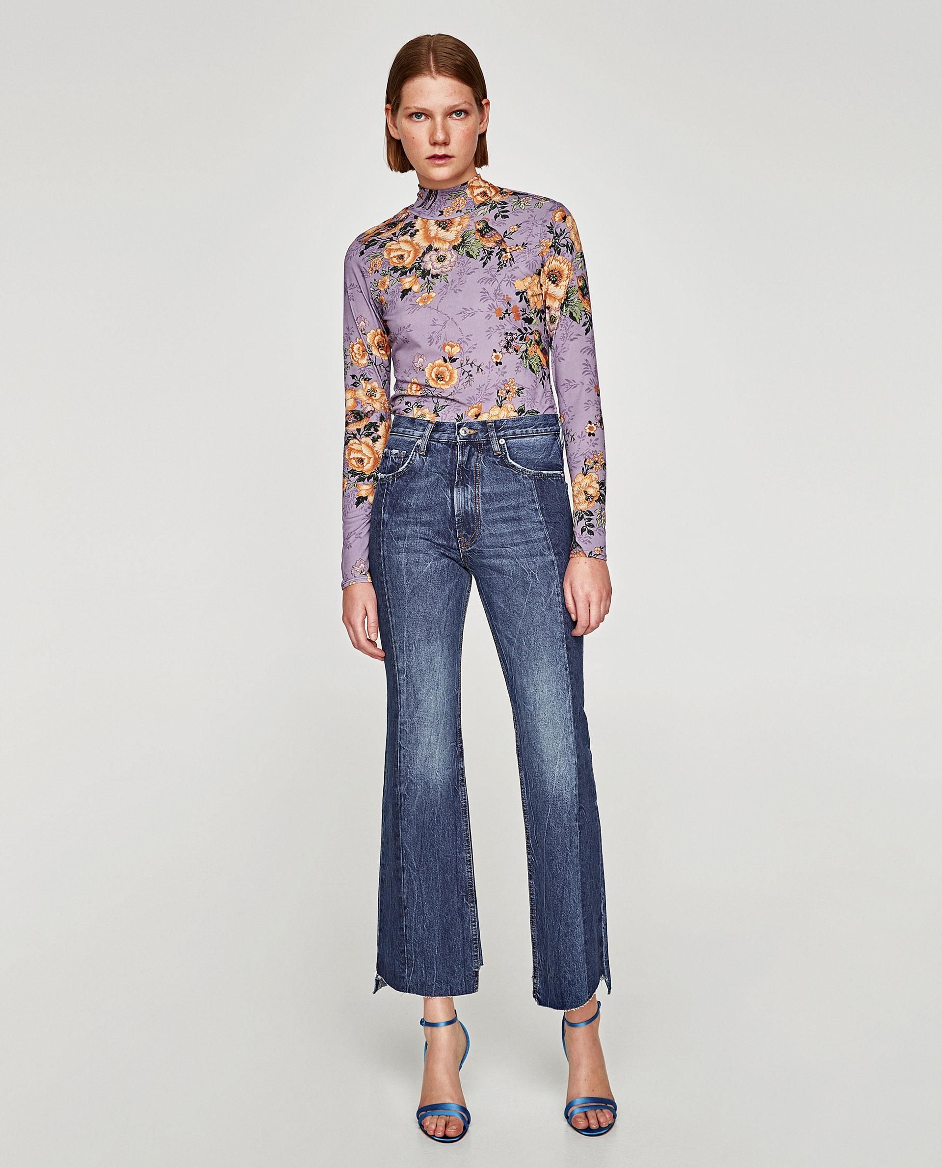 The real slim flare jean