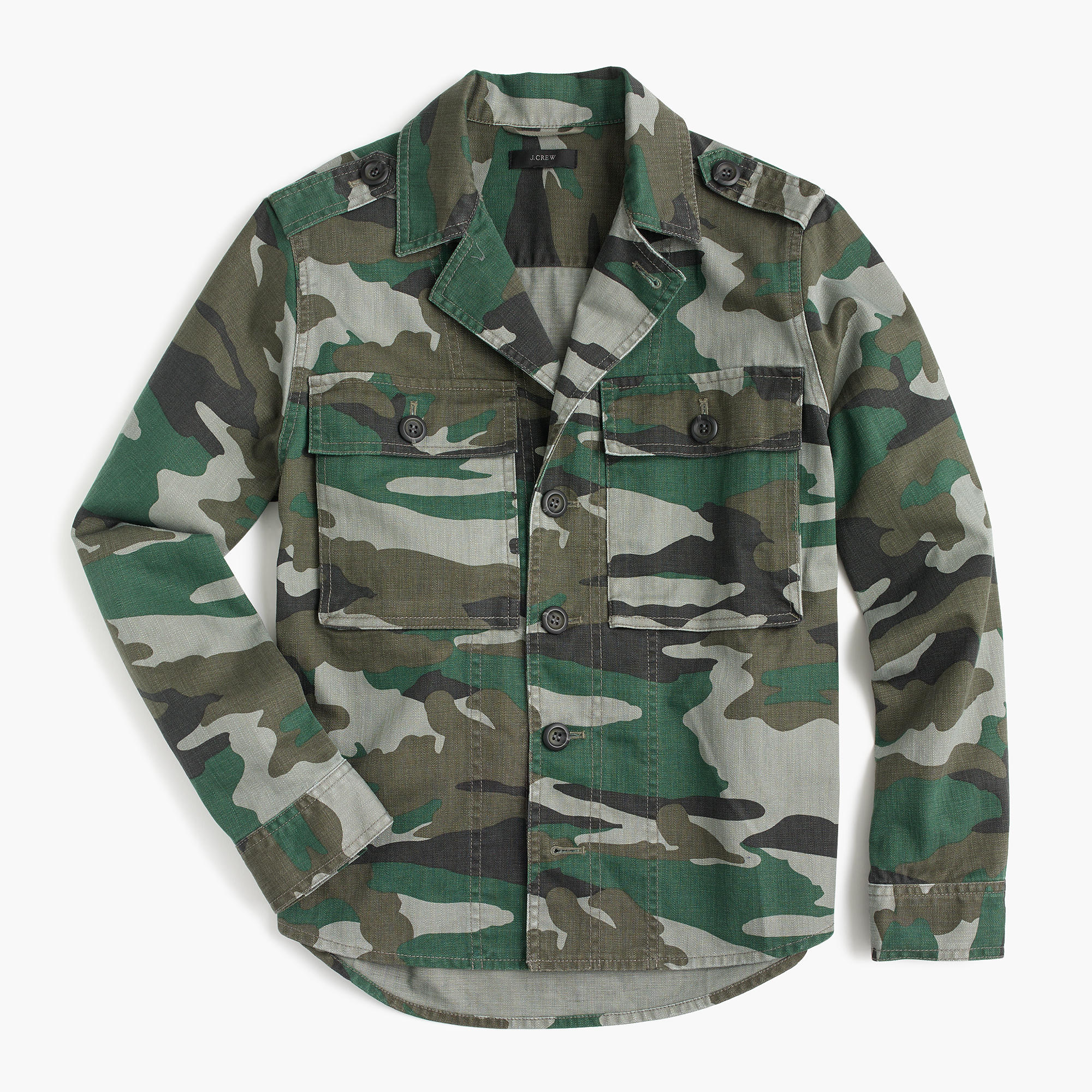 Camo Utility Shirt