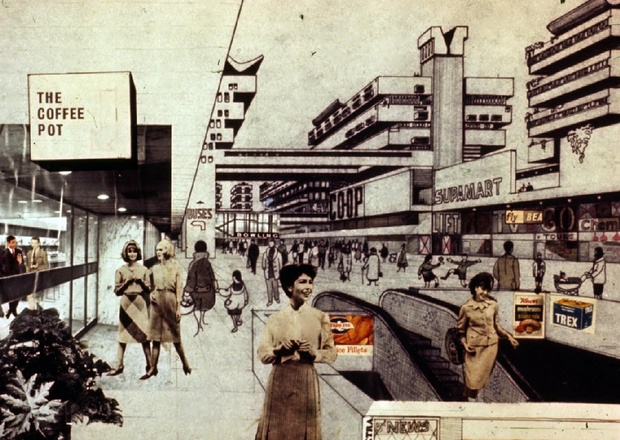 The 60's Segregated City of Tomorrow