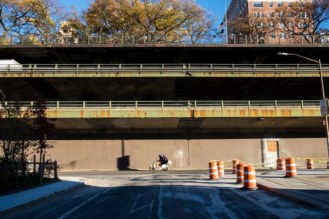 Under the Expressway, New York.