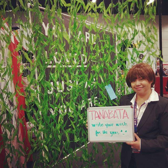 Day 3!! Today you can make a wish and put it on our tanabata wall! Come by booth 725 for fun and free stuff. . . #tanabata #tanabatafestival #ax2019 #animeexpo #animeexpo2019 #jesusotaku #yaljaya #freestuff
