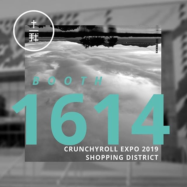 It's time for Crunchyroll Expo! If you'll be there this weekend, stop by our booth and say hi. We have free stuff to give away and fun activities for you to do. . . #jesusotaku #freestuff #crx #crunchyrollexpo #crunchyrollexpo2019 #letsgo