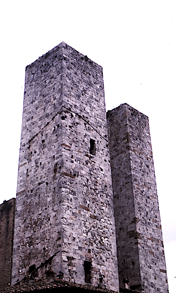 The Twin Picture Show, San Gimignano twin tower.jpg