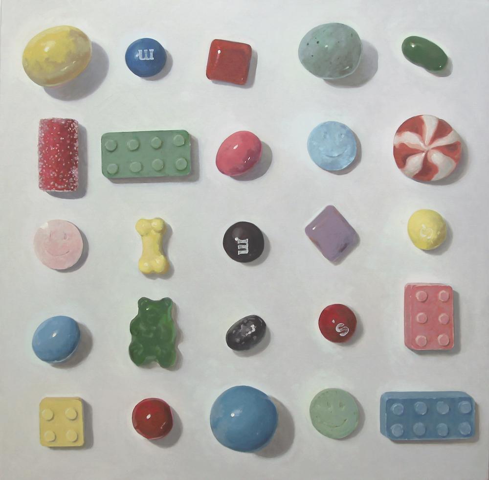 Arranged Candies No.15