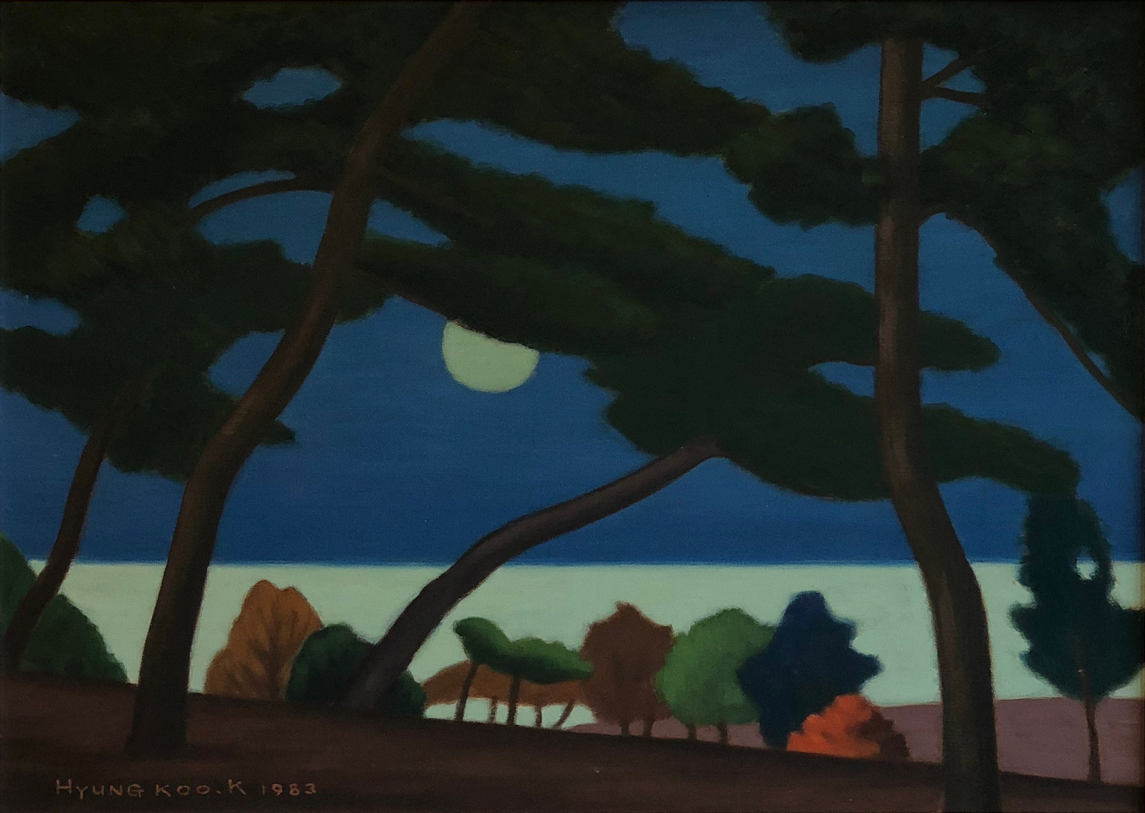Moon and Sea, 1982