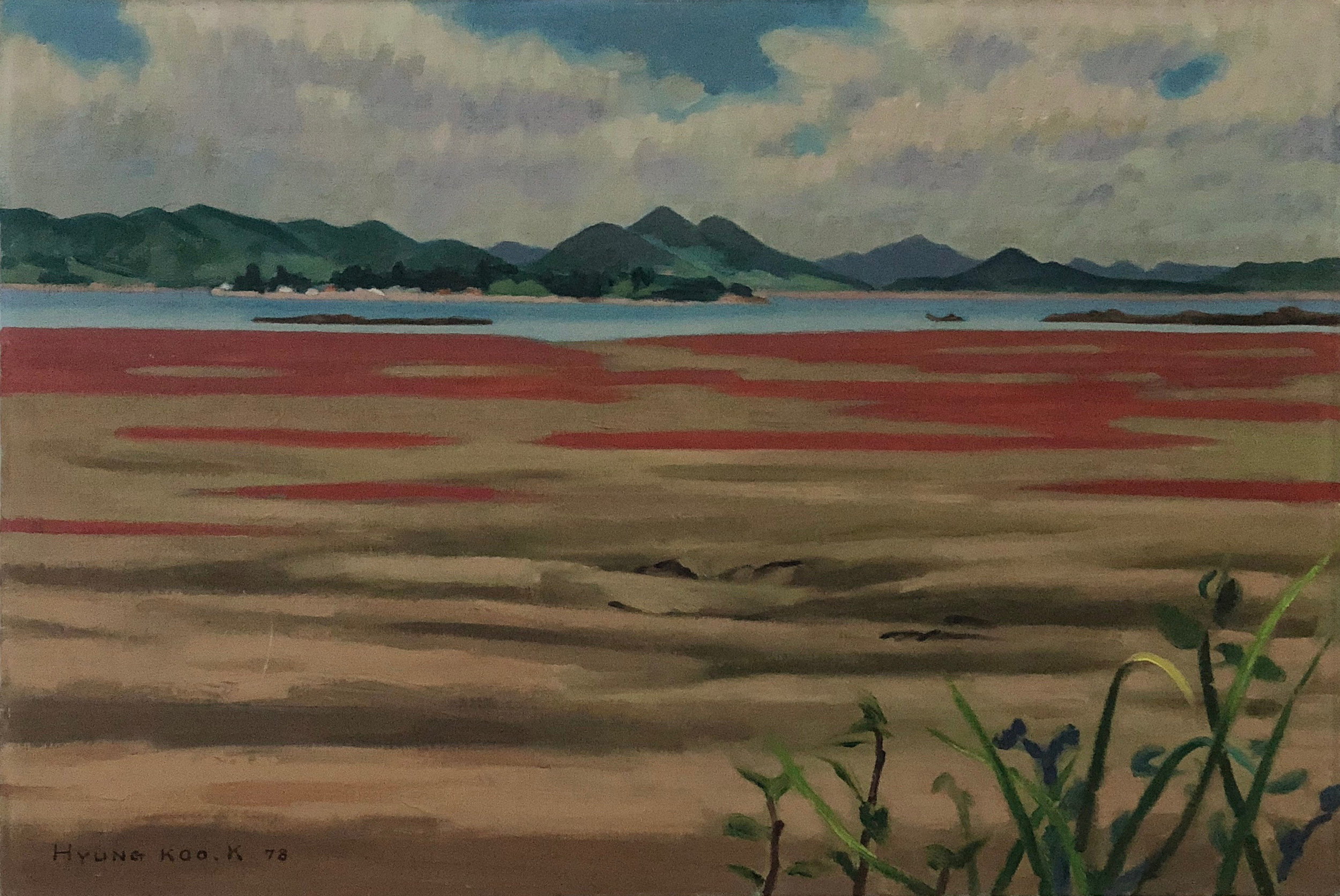 Landscape of West Sea, 1978 (in Korea)