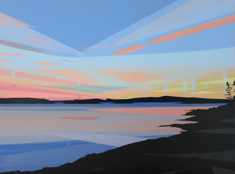 Sunset, Gridstone Point (Greta Van Campen)