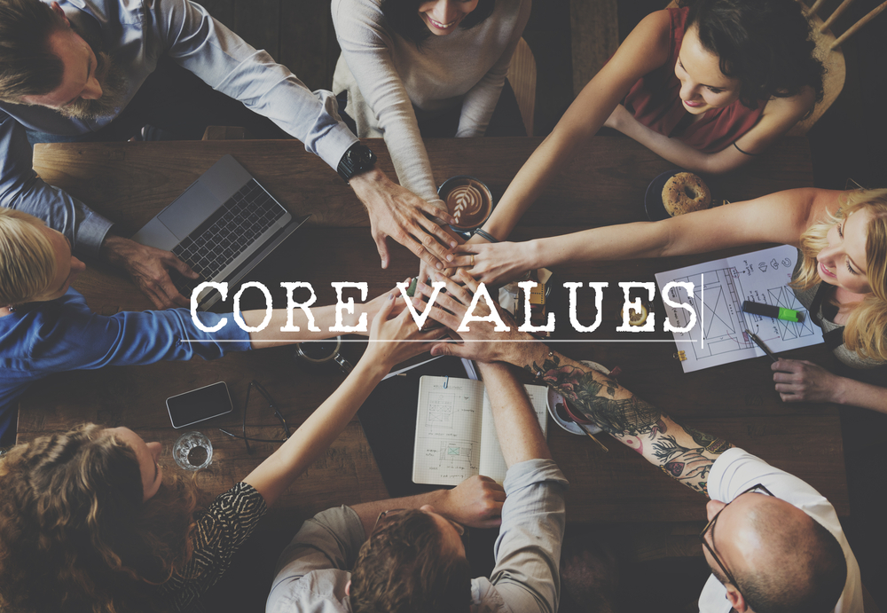 Using the Core Values of Scrum