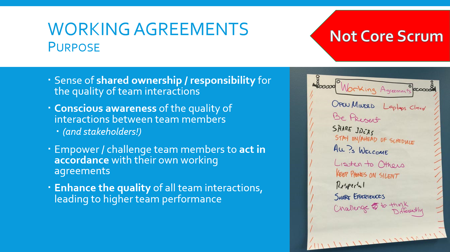 working agreements in scrum