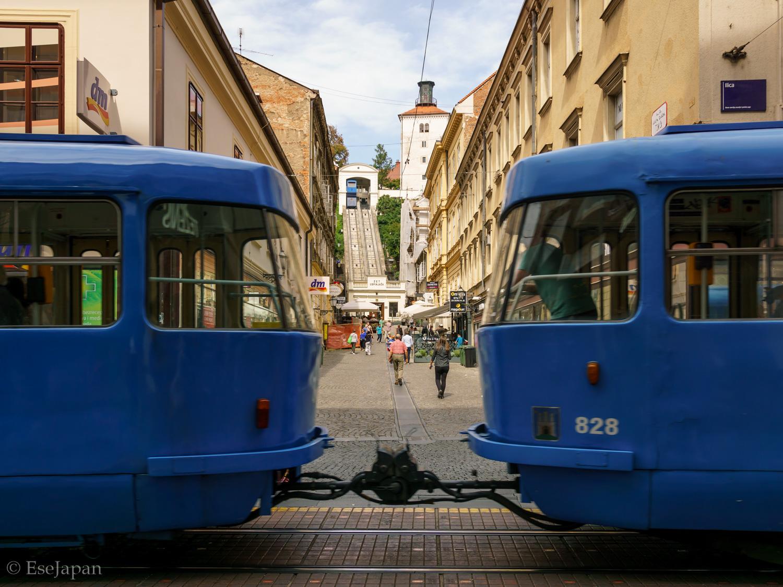 Between the Tram gap