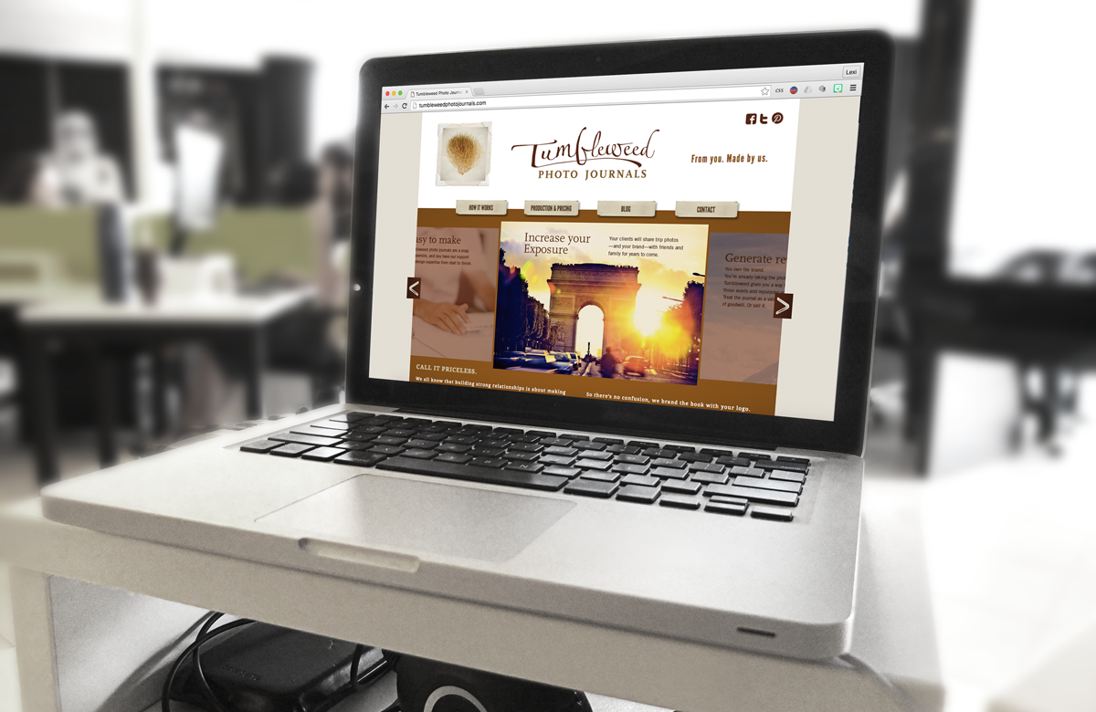 Content Creation for Tumbleweed Photo Journals website