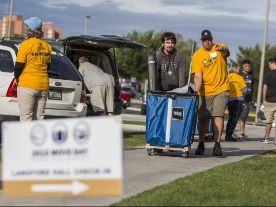 MSU Move in day - AMA will be volunteering on August 21st to help move new students into residence halls across campus. If you would like to volunteer please click the email below.