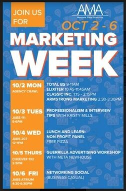Fall 2016 | Marketing Week