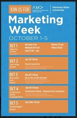Fall 2017 | Marketing Week
