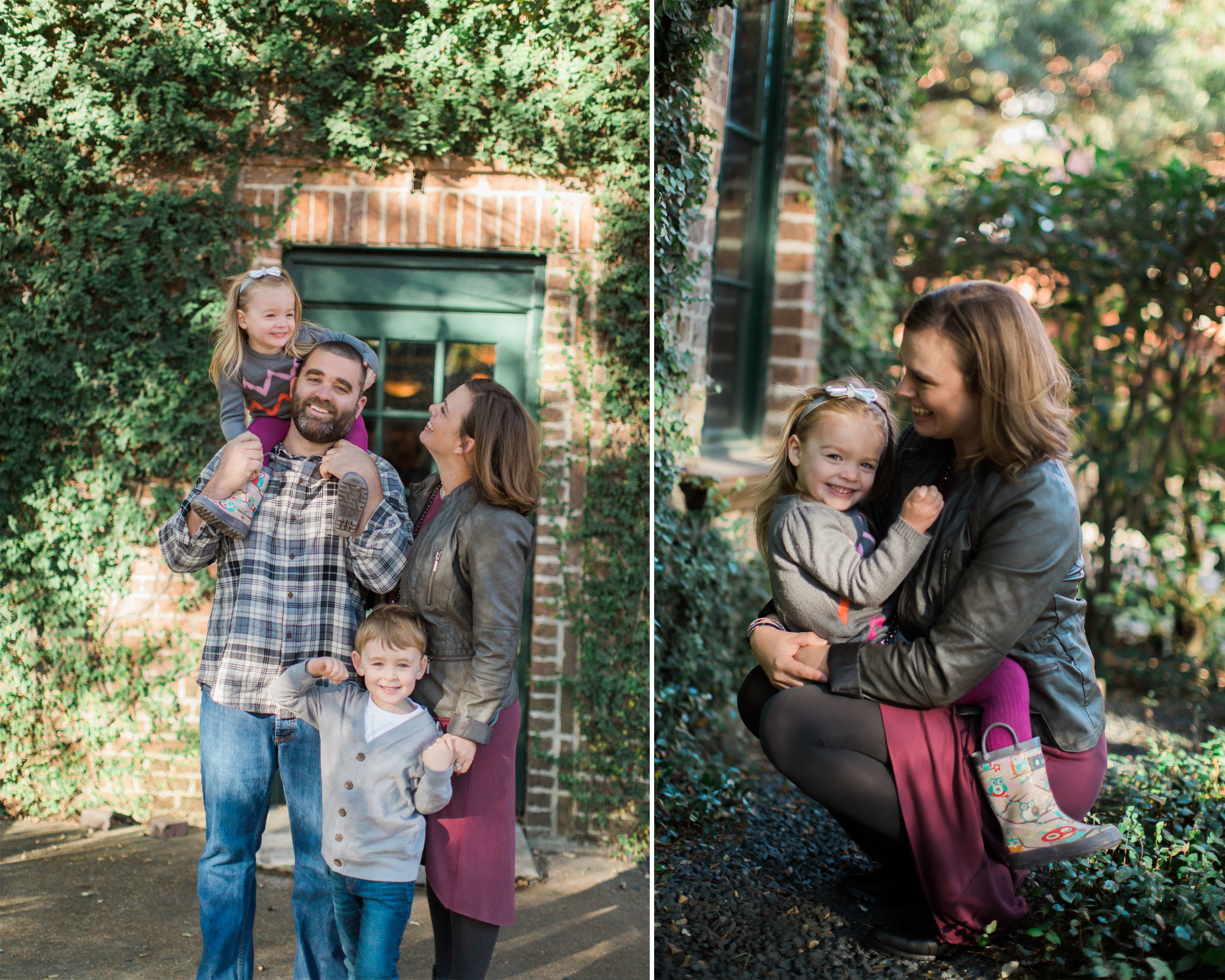 We were fortunate to be asked to photograph the Matos family once again! These are some of my favorite images that were captured of the day. Jessica is a portrait photographer aswell, so it is always fun to be able to photograph other creatives and their families. Enjoy!