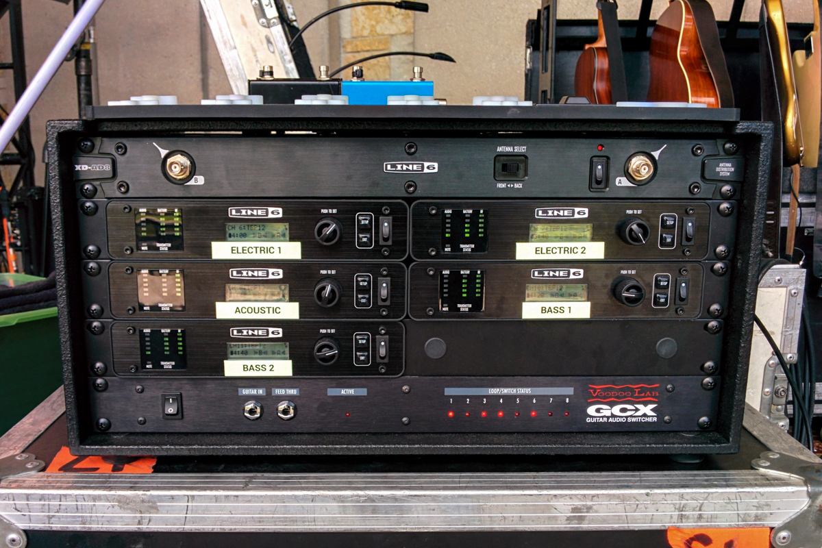 Here is a MIDI controlled wireless rack that took over 80 hours to design and build in 2014