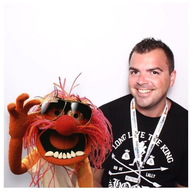 Hanging with an original rock-star, Animal!