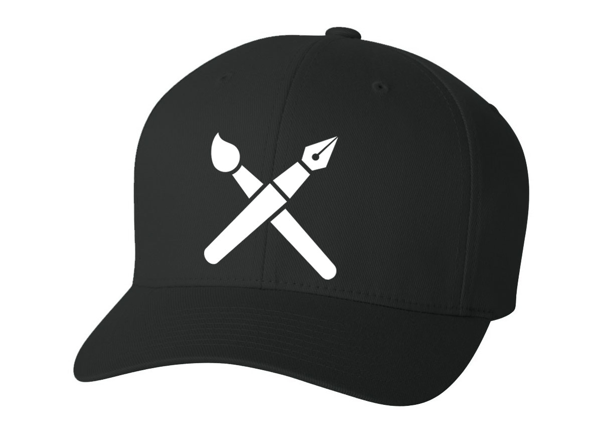 Art & Design FlexFit Hat  Available in multiple colors