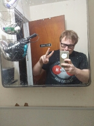 My bathroom mirror