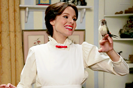 """Kristen Bell as Mary Poppins Argues for a """"Living Wage"""""""
