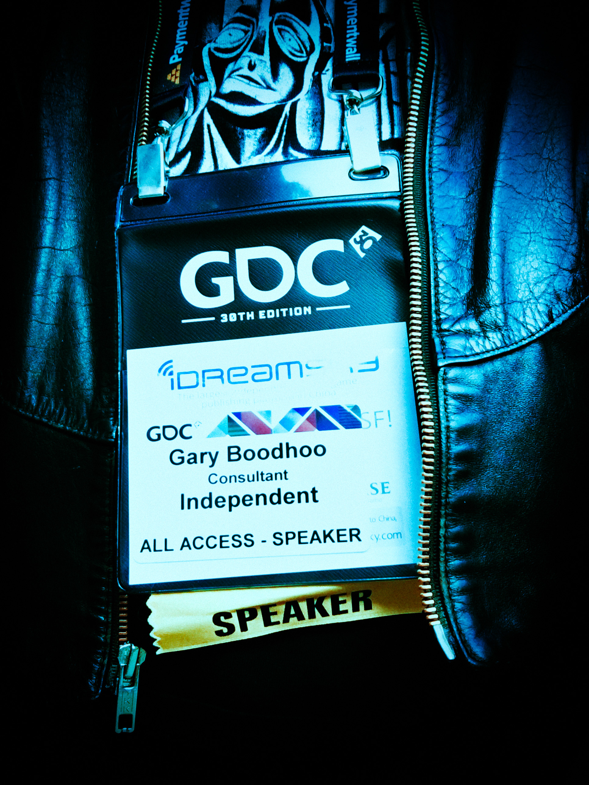 02016 GAME DEVELOPERS CONFERENCE, Moscone Convention Center, San Francisco, CA USA