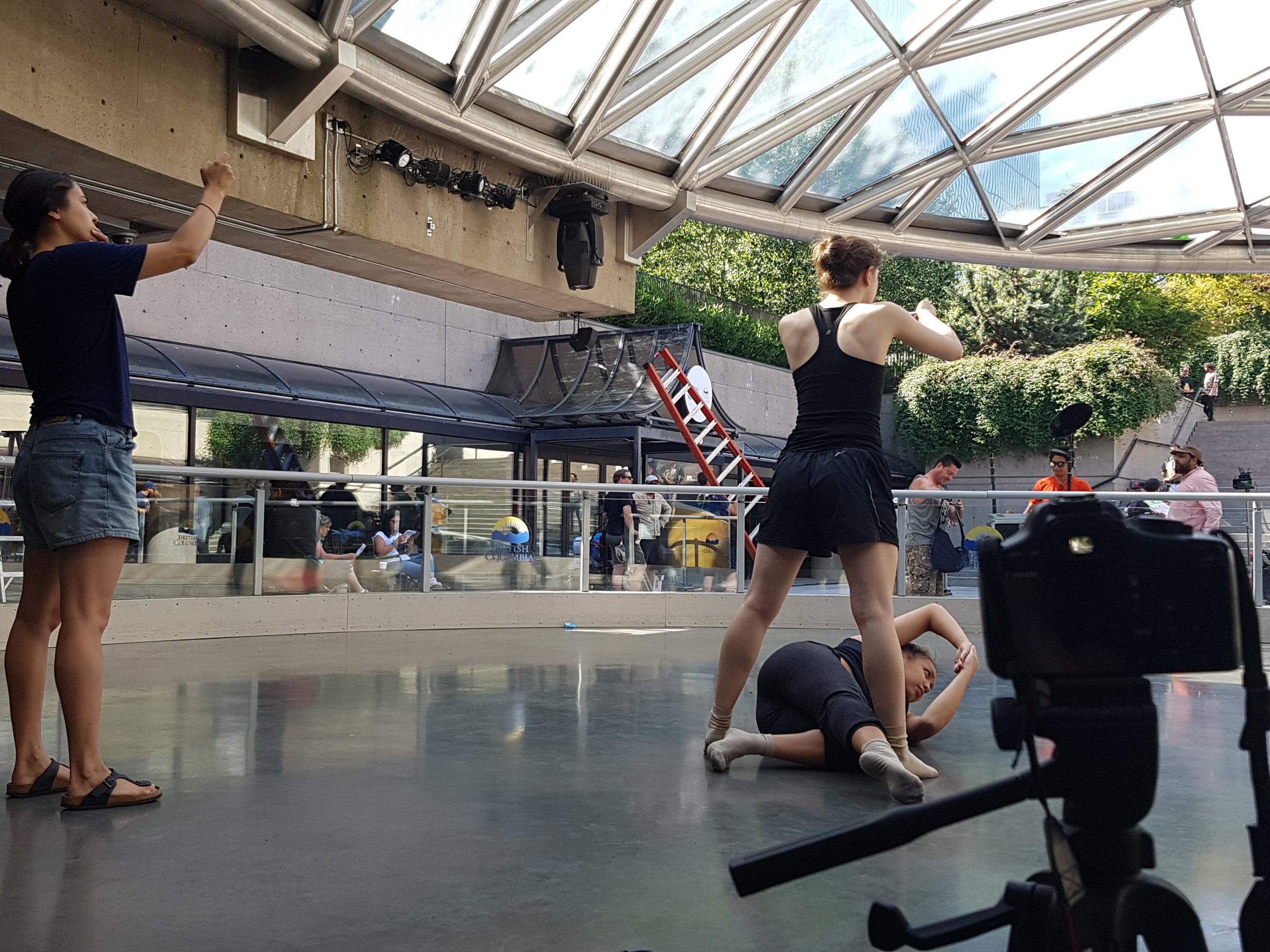 Dance on Film Workshop with F.O.R.M 2016