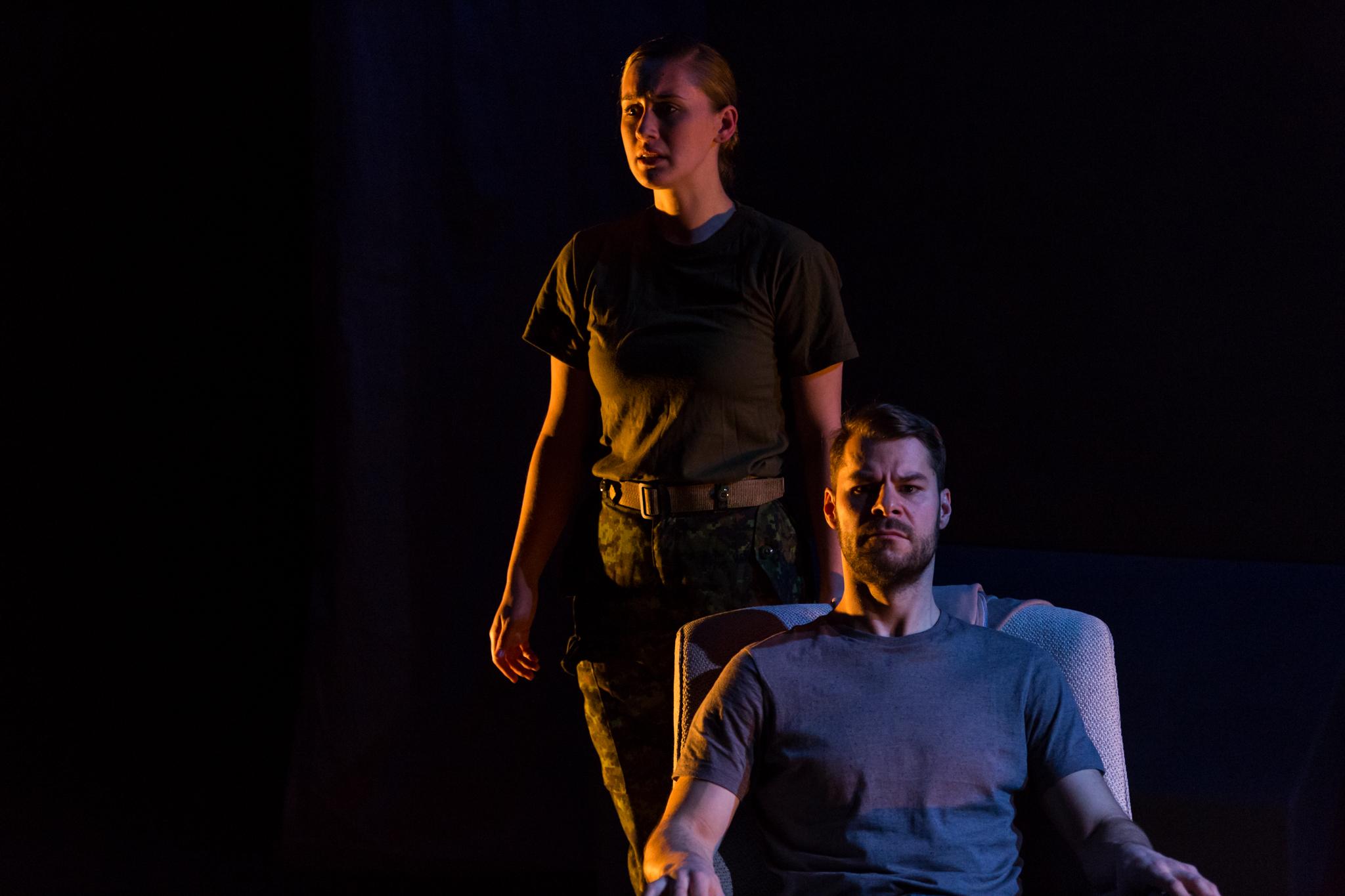 """The Fighting Season"" by Sean Harris Oliver Actors: Siona Gareau Brennan Kyle Jespersen"