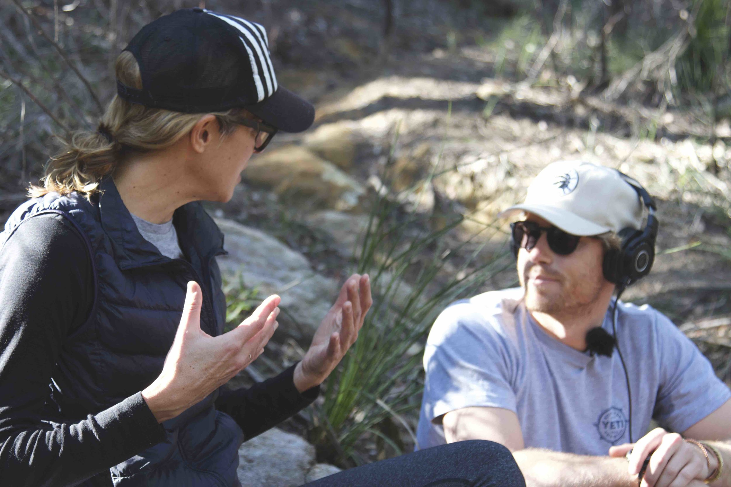 Sarah Wilson - The Roving Mic Podcast with Hayden Quinn