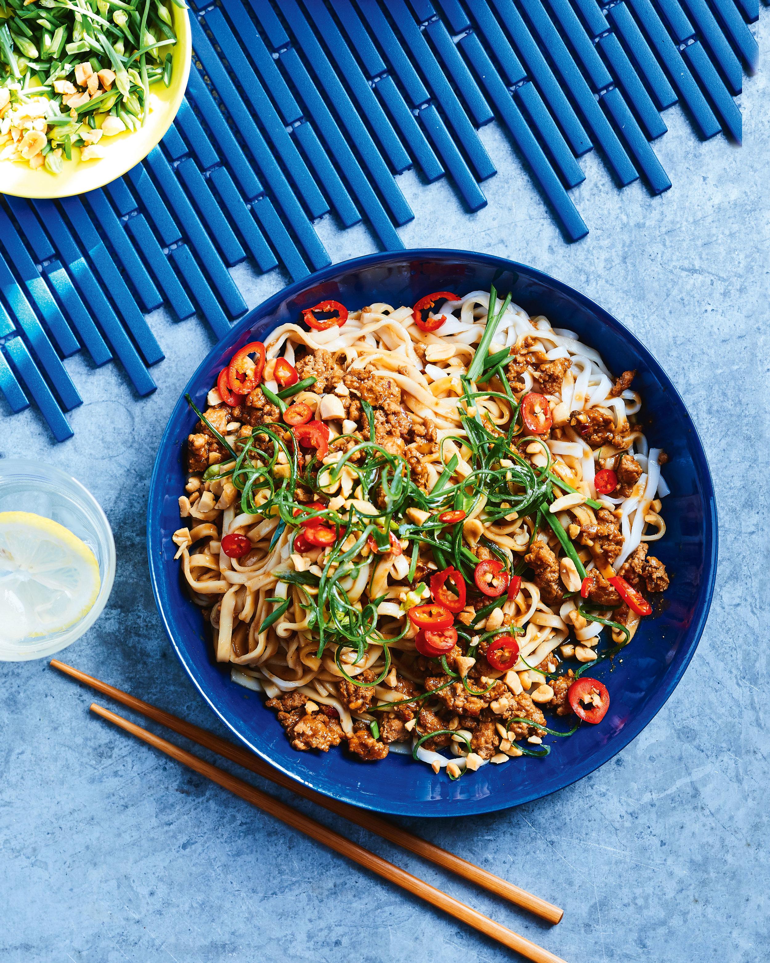 Satay Noodles recipe by Hayden Quinn