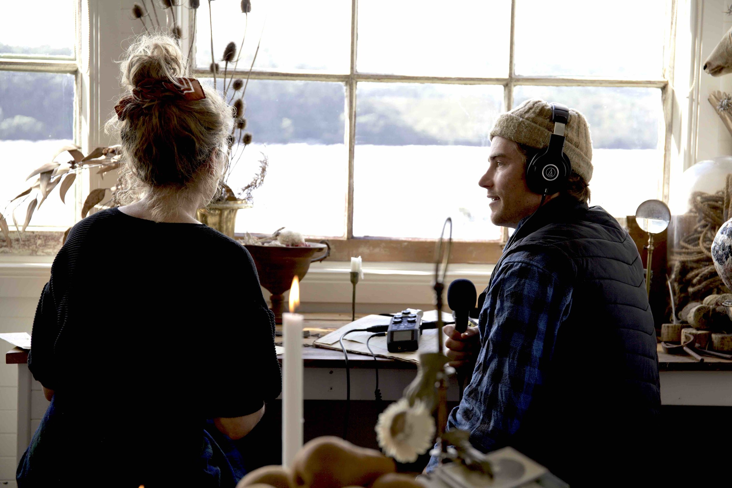 Sarah Andrews on The Roving Mic by Hayden Quinn
