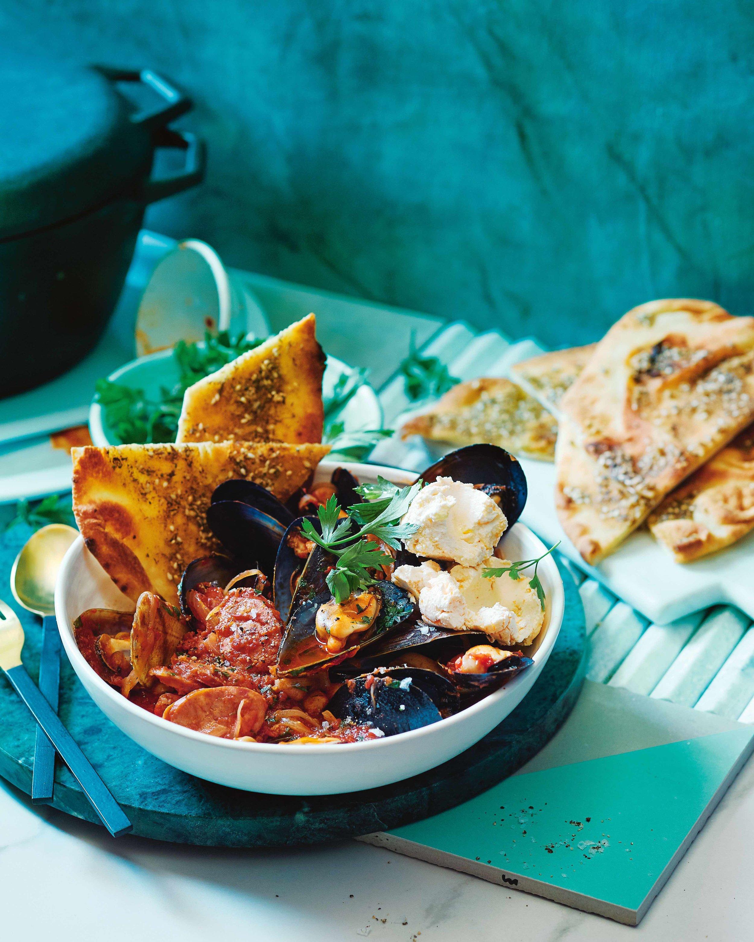 Mussels & Chorizo Recipe by Hayden Quinn