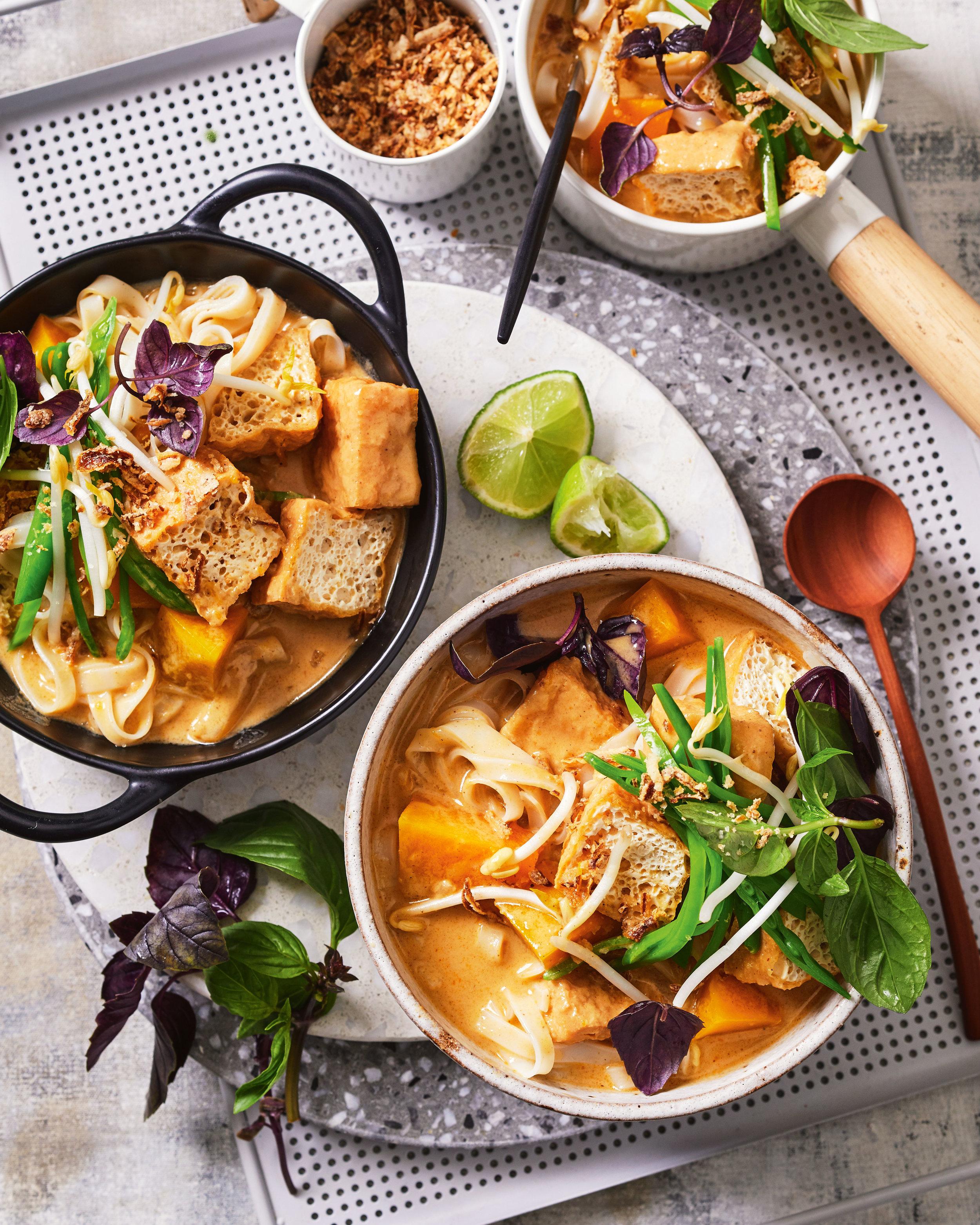 Hayden Quinn Recipe Tofu Noodle Soup